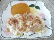 Süße Mahlzeit : Milchreis mit Zimt & Zucker und brauner Butter - Rezept