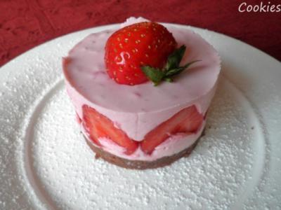Erdbeer - Törtchen für Zwei ;-) - Rezept