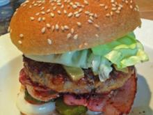 "Maxi Hamburger ""all-in"" - Rezept"