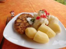 Blumenkohl mit Käsesoße>> - Rezept