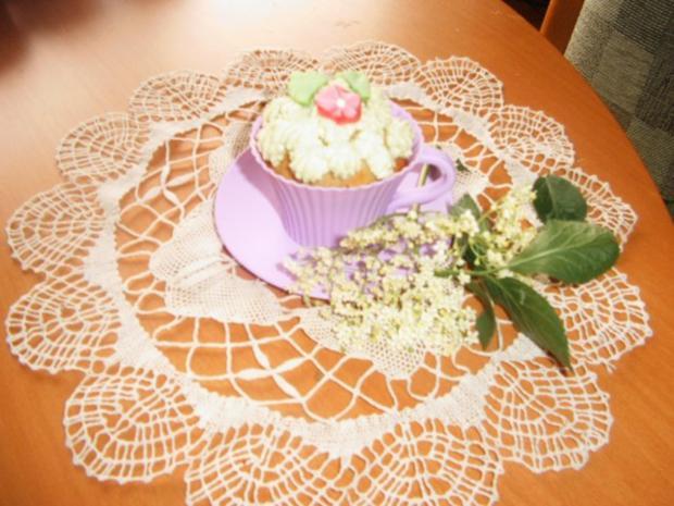 Holunderblütenssirup -Cup-Cakes - Rezept - Bild Nr. 10