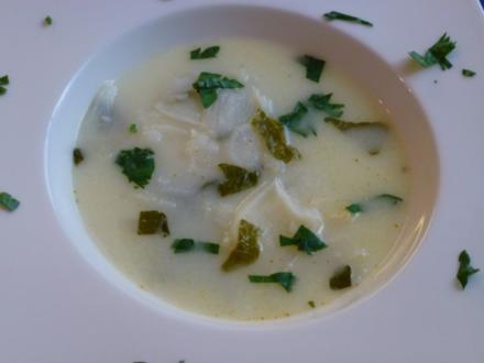 Radi-Suppe leicht scharf - Rezept