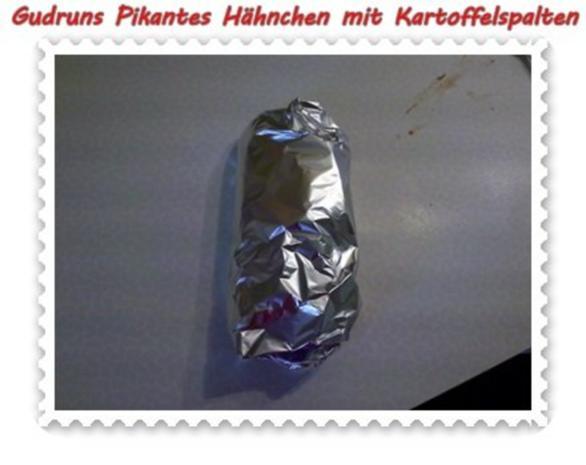 Geflügel: Pikantes Hähnchen mit Kartoffelspalten - Rezept - Bild Nr. 13