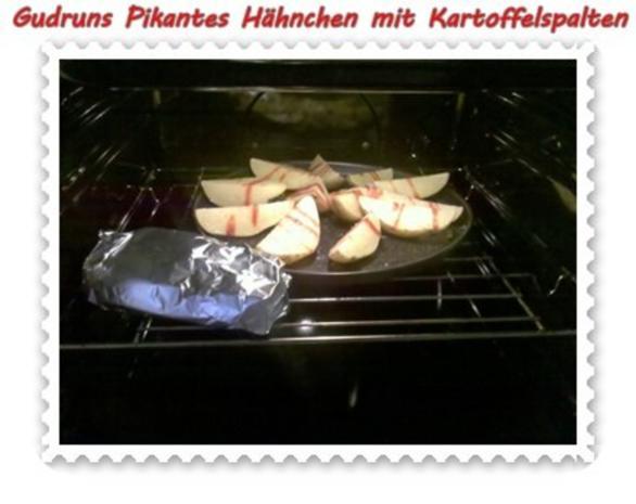 Geflügel: Pikantes Hähnchen mit Kartoffelspalten - Rezept - Bild Nr. 14