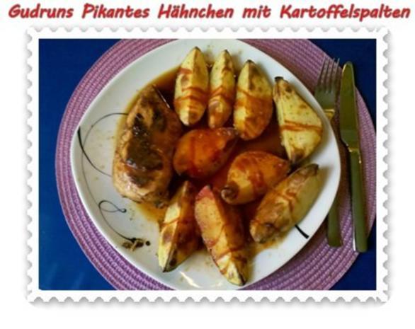 Geflügel: Pikantes Hähnchen mit Kartoffelspalten - Rezept - Bild Nr. 18