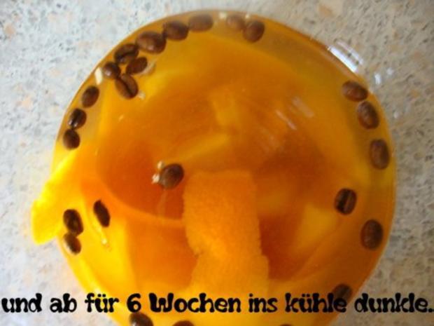 Orangen-Kaffee Likör - Rezept - Bild Nr. 9