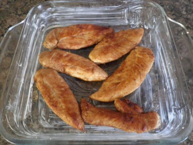 Hähnchen in Zwiebelsahne ... - Rezept - Bild Nr. 9
