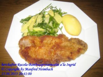 Salat – Rucola - Bambussprossensalat a'la Ingrid - Rezept