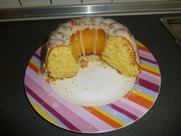 Orangen Gugelhupf - Rezept