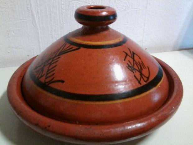 Marokkanische Fleisch-Tajine mit Zwiebeln, Tomaten und Kartoffeln - Rezept - Bild Nr. 2