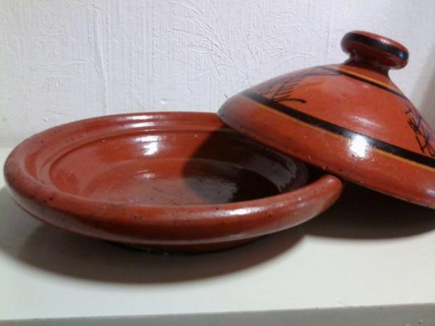 Marokkanische Fleisch-Tajine mit Zwiebeln, Tomaten und Kartoffeln - Rezept - Bild Nr. 3