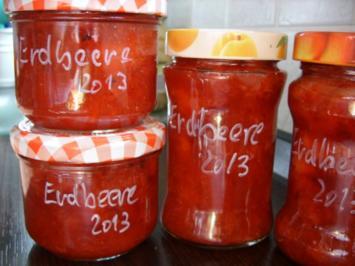 Konfitüre & Co: Erdbeere 2013 - Rezept