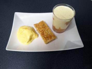 Exotische Mango trifft auf heimischen Rhabarber - Rezept
