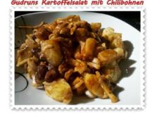 Salat: Kartoffelsalat mit Chilibohnen - Rezept