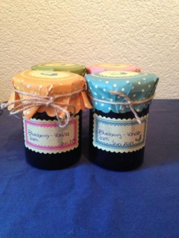 Blaubeer-Jam - Rezept