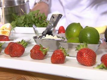Rezept: Dreierlei von der Erdbeere