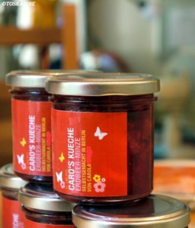 Erdbeer-Minz-Marmelade - Rezept