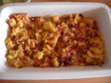 Kartoffel - Schinken - Tortilla - Rezept