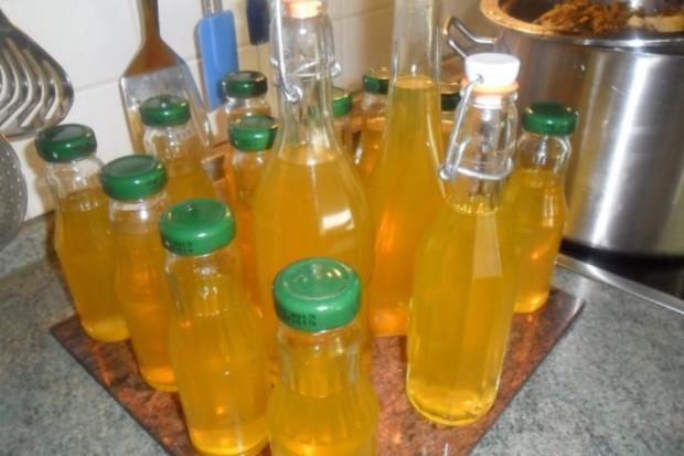zitronenmelisse-ingwer-sirup - Rezept