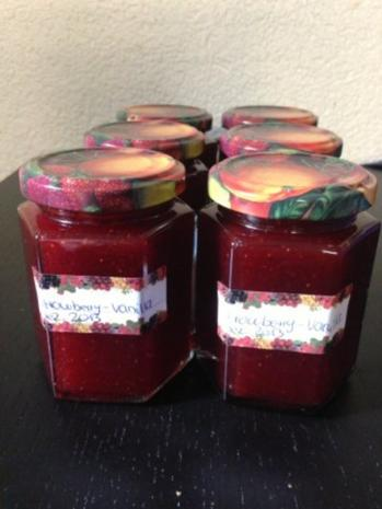 Strowberry-Vanilla-jam - Rezept