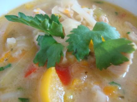""" Thai Suppe "" nach SuppenGeniesser Art - Rezept"