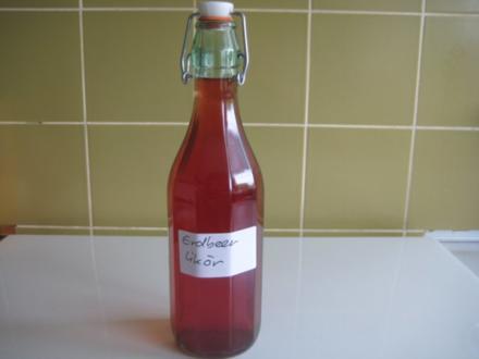 Erdbeer-Likör - Rezept