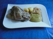Kochen: Eisbein mit Erbspüree - Rezept