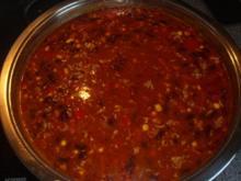 Chili con Carne mit mini Cabanossi - Rezept