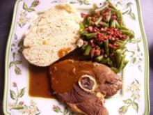 Lammkeule und grüne Bohnen - Rezept