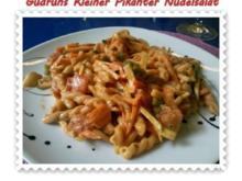Salat: Kleiner pikanter Nudelsalat - Rezept