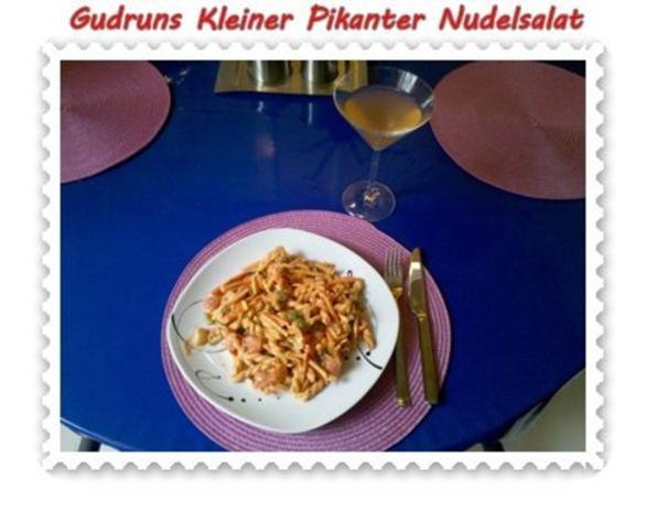 Salat: Kleiner pikanter Nudelsalat - Rezept - Bild Nr. 9