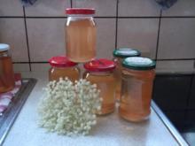 Holunderblüten-Apfelgelee - Rezept