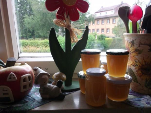 Ananas-Kokos-Holundergelee - Rezept