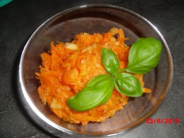 Rezept salat mohren apfel