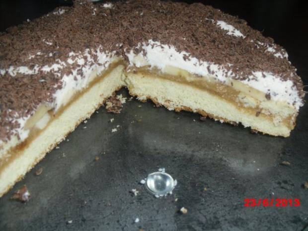 Bananen-Caramel-Kuchen - Rezept - Bild Nr. 2