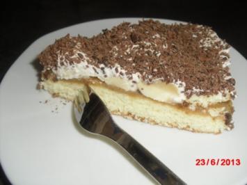 Bananen-Caramel-Kuchen - Rezept