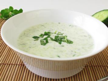 Suppen - Horstis Gurkensuppe - Rezept - Bild Nr. 2