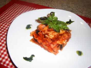 Aubergine-Lasagne - Rezept