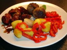 Rindfleischbällchen mit Minze - Rezept