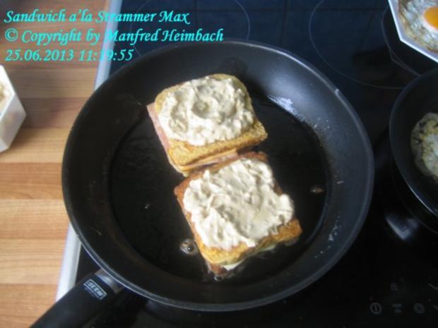 Fastfood – Sandwich a'la Strammer Max - Rezept - Bild Nr. 2