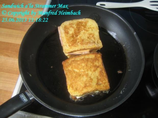 Fastfood – Sandwich a'la Strammer Max - Rezept - Bild Nr. 3