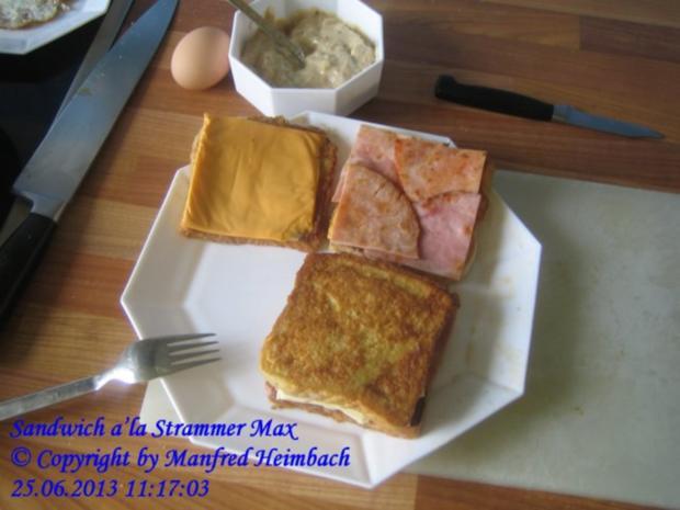 Fastfood – Sandwich a'la Strammer Max - Rezept - Bild Nr. 4
