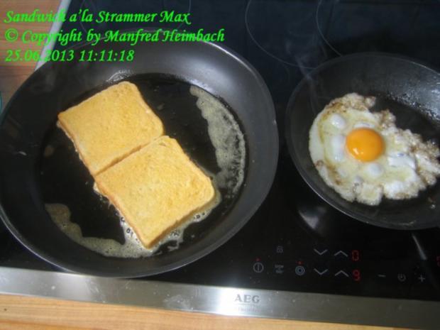 Fastfood – Sandwich a'la Strammer Max - Rezept - Bild Nr. 5