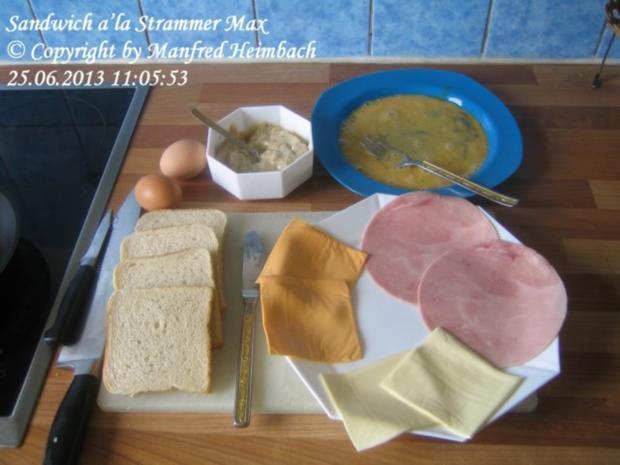 Fastfood – Sandwich a'la Strammer Max - Rezept - Bild Nr. 7