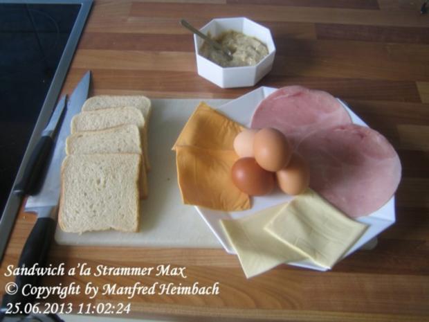 Fastfood – Sandwich a'la Strammer Max - Rezept - Bild Nr. 8