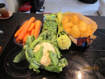 rustikale Gemüsesuppe - Rezept