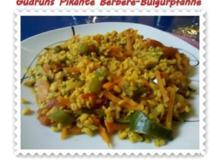 Vegetarisch: Pikante Berbere-Bulgurpfanne - Rezept