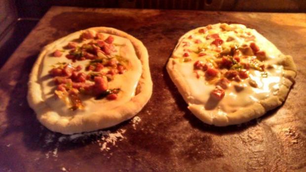 Flammkuchen aus Pizzateig - Rezept - Bild Nr. 2