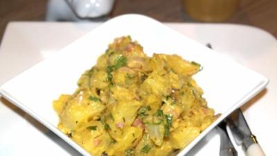 Kartoffelsalat französische Art - Ein MUSS auf jeder Grillparty! - Rezept