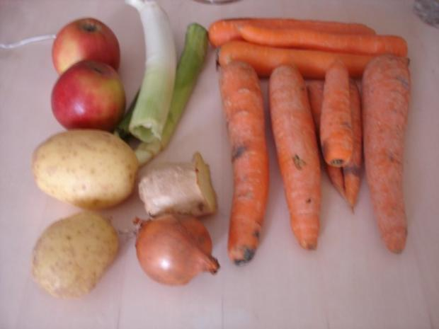 Ingwer-Möhren-Curry-Suppe - Rezept - Bild Nr. 2